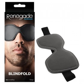 Renegade Bondage Blindfold Black