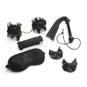 Secret Kisses Midnight Special Set 5 Piece Bondage Kit