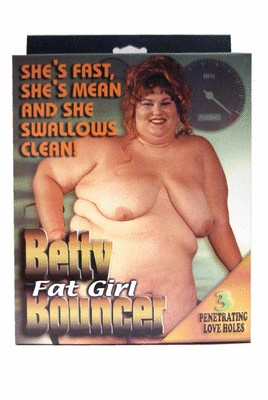 Betty Fat Bouncer Doll