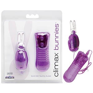 Climax Bunnies Purple 10 Function Bullet