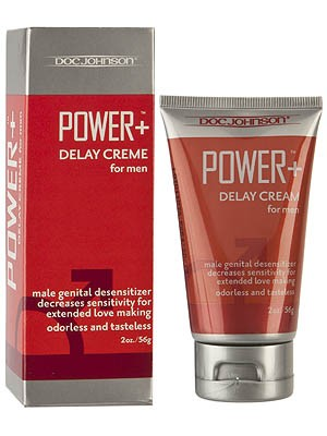 Power+ Delay Creme for Men 56g