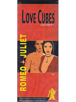 Love Cubes #1 - Romeo & Juliet Adult Game