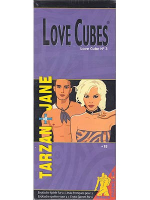 Love Cubes #3 - Tarzan & Jane Adult Game