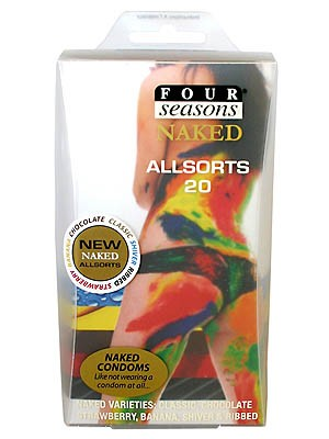 Naked Allsorts 20pk Condoms