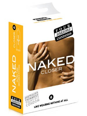 Four Seasons Naked Closer Condoms - Ultra Thin