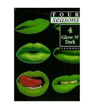 Glow N' Dark Condoms 4pk