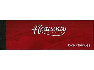 Heavenly Nights Love Cheque Book