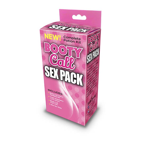 Booty Call Sex Pack - 4 Piece Set