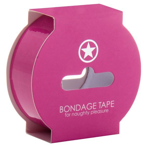 Ouch! Non Stick Bondage Tape Pink 17.5 m