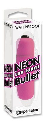 Neon Luv Touch Bullet Pink