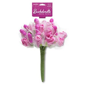 BP PECKER FLOWER BOUQUET - PINK