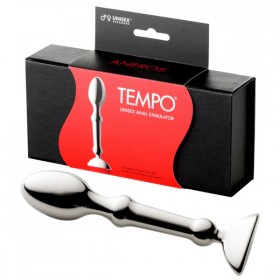 Tempo Stainless Steel Anal Plug