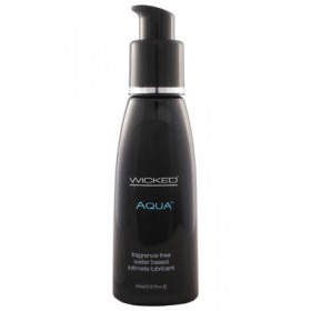 Wicked Aqua Water Based Lube 2oz