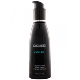 Wicked Aqua Water Based Lube 4oz
