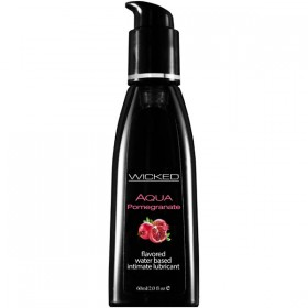 Wicked Aqua Pomegranate 60ml Water Based Lubricant