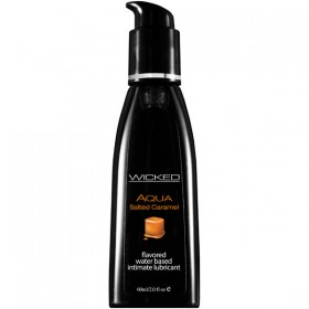 WICKED AQUA SALTED CARAMEL 60ml Water Based Lubricant
