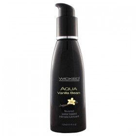 WICKED AQUA VANILLA BEAN 120ml Water Based Lubricant