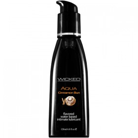 WICKED AQUA CINNAMON BUN 120ml Water Based Lubricant