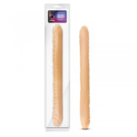 B Yours 18'' Double Dildo Flesh