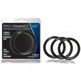 Performance VS1 Pure Premium Silicone Cockrings Set of 3