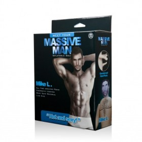 Massive Man Mike L Male Inflatable Love Doll