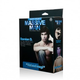 Massive Man Damian D Male Inflatable Love Doll