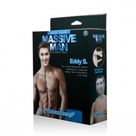 Massive Man Eddy S Male Inflatable Love Doll
