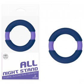 All Night Stand 37mm Cock Ring Blue/Purple