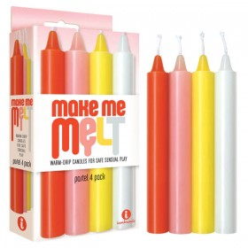 Make Me Melt Drip Candles Pastel 4 Set