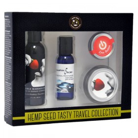 Hemp Seed Tasty Travel Collection Strawberry 4 Piece Set
