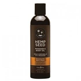 Hemp Seed Massage & Body Oil Dreamsicle Scented 237ml Bottle