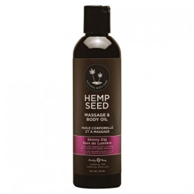 Hemp Seed Massage & Body Oil Skinny Dip Scented 237ml Bottle