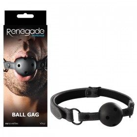 Renegade Bondage Ball Gag Black