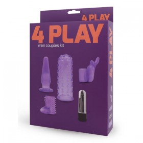 4 Play Mini Couples Kit  Purple