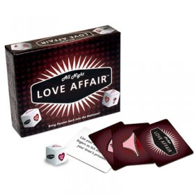 All Night Love Affair Adult Card Game