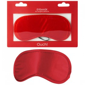 Ouch Soft Eyemask Red