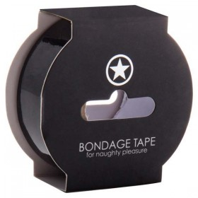 Ouch! Non Stick Bondage Tape Black 17.5 m
