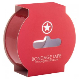 Ouch! Non Stick Bondage Tape Red 17.5 m