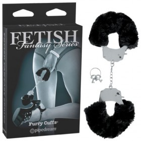 Fetish Fantasy Furry Cuffs Black