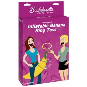 Bachelorette Party Favour Inflatable Banana Ring Toss