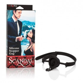 Scandal Silicone Stopper Gag