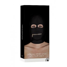 Ouch! Extreme Zipper Mask With Mouth Zipper